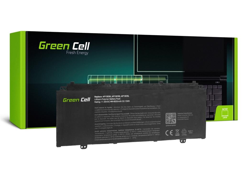 Baterija Green Cell za Acer Acer Aspire S 13 S5-371 S5-371T Chromebook R 13 CB5-312T / 11,1V 4600mAh