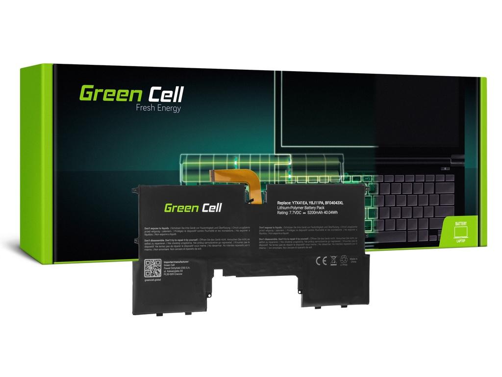 Baterija Green Cell za HP Spectre 13 13T / 7,7V 5200mAh