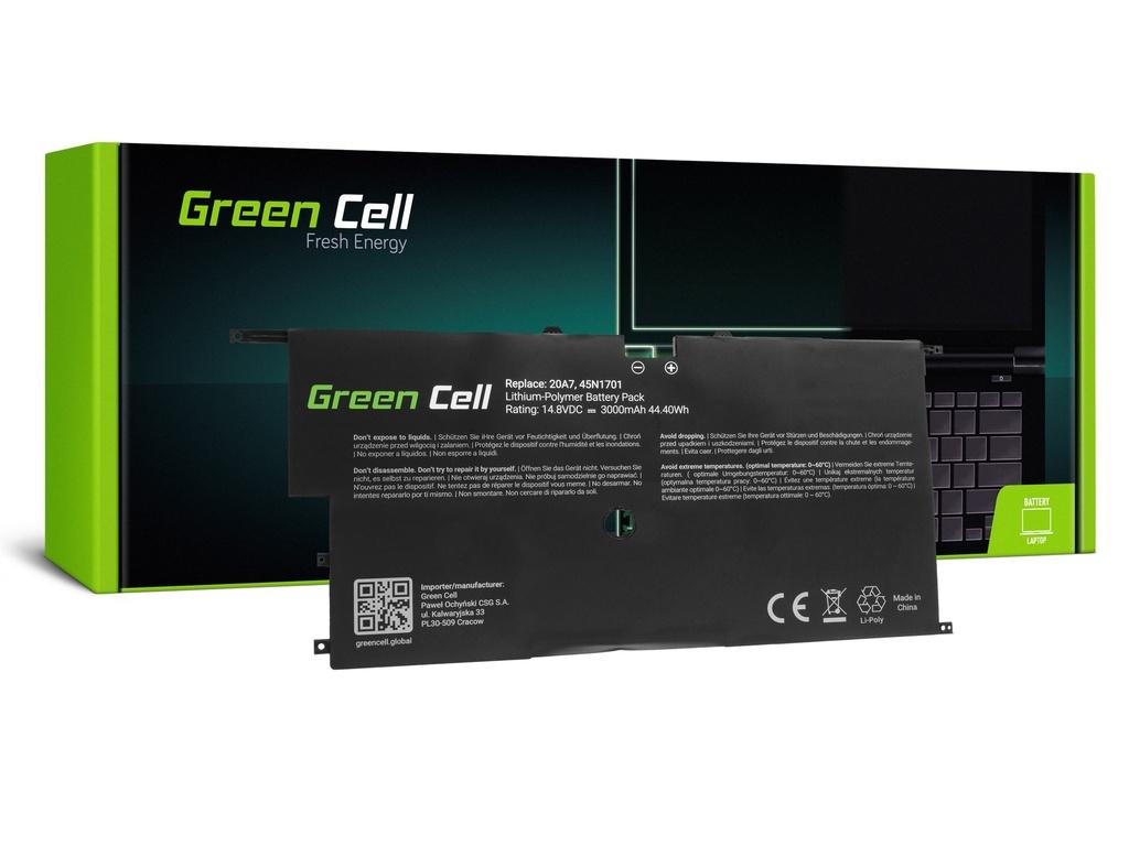 Baterija Green Cell za Lenovo ThinkPad Ks1 Carbon 2. Gen/ 14,4V 3000mAh