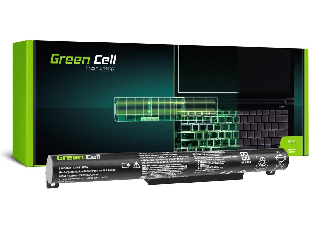 Baterija Green Cell za Lenovo B50-10, Lenovo IdeaPad 100-15IBI / 11,1V 2200mAh