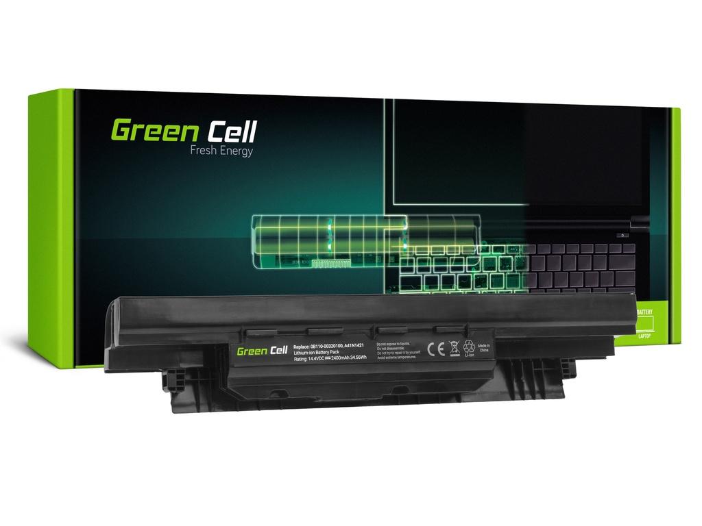 Green Cell baterija za AsusPRO P2420 P2420L P2440U P2520 P2520L P25 / 14,4V 2400mAh