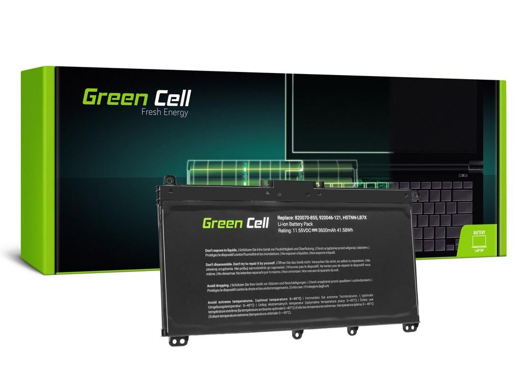 Baterija Green Cell za HP Pavilion 14 15 15T 15Z 17 17Z / 11,55V 3400mAh