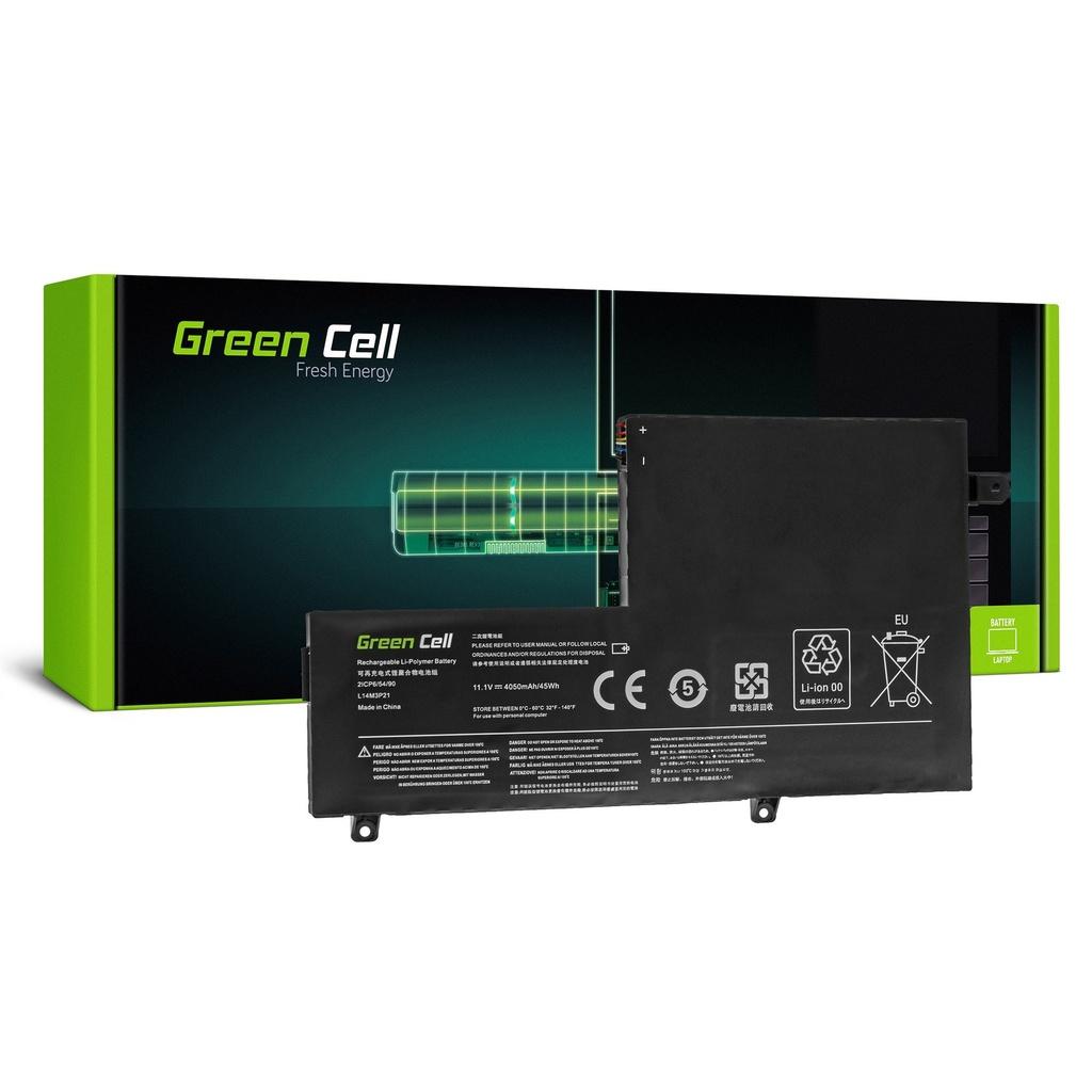 Baterija Green Cell L14M3P21 za Lenovo Yoga 500-14IBD 500-14ISK 500-15IBD 500-15ISK