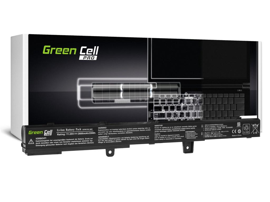 Baterija Green Cell PRO A31N1319 za Asus X551 X551C X551CA X551M X551MA X551MAV F551 F551C F551M R512C R512CA R553L