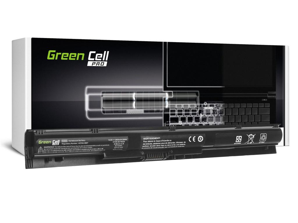 Baterija Green Cell PRO KI04 za HP Pavilion 15-AB 15-AB061NW 15-AB230NW 15-AB250NW 15-AB278NW 17-G 17-G131NW 17-G132NW