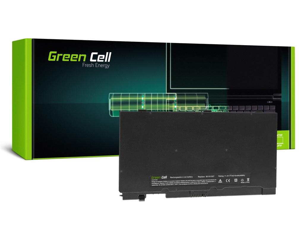 Baterija Green Cell B31N1507 za Asus AsusPRO B8430 B8430U B8430UA P5430 P5430U P5430UA / 11,4V 4210mAh