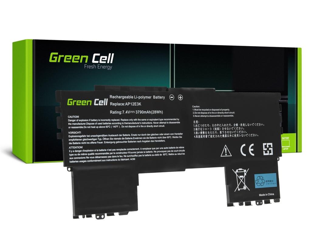 Baterija Green Cell AP12E3K za Acer Aspire S7-191