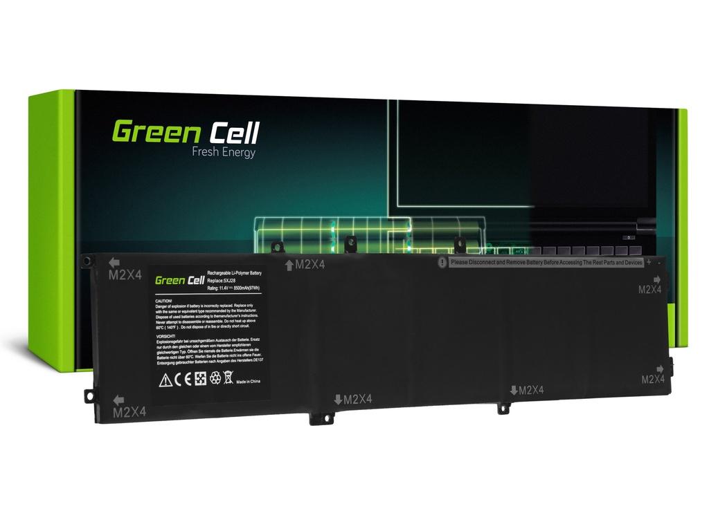 Baterija Green Cell 6GTPY 5XJ28 za Dell XPS 15 7590 9560 9570, Dell Precision 15 5520 5530