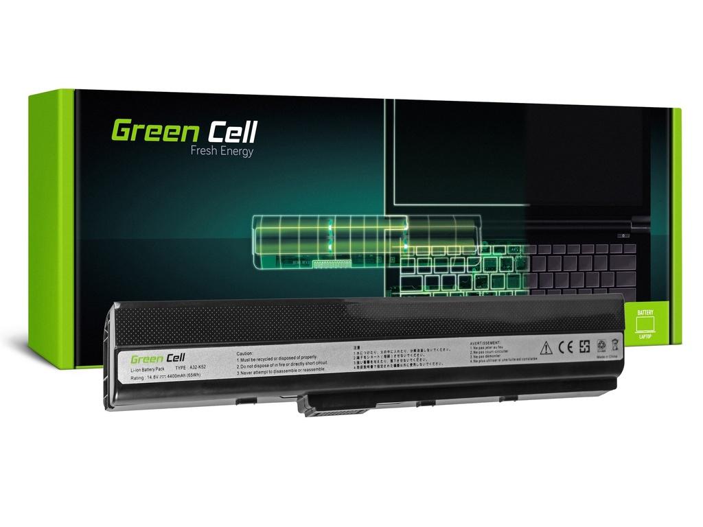 Baterija Green Cell za Asus A32-K52 K52 X52 A52 / 14,4V 4400mAh