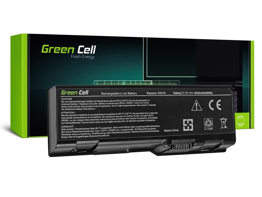 Baterija Green Cell za Dell Inspiron XPS Gen 2 6000 9300 9400 E1705 / 11,1V 4400mAh