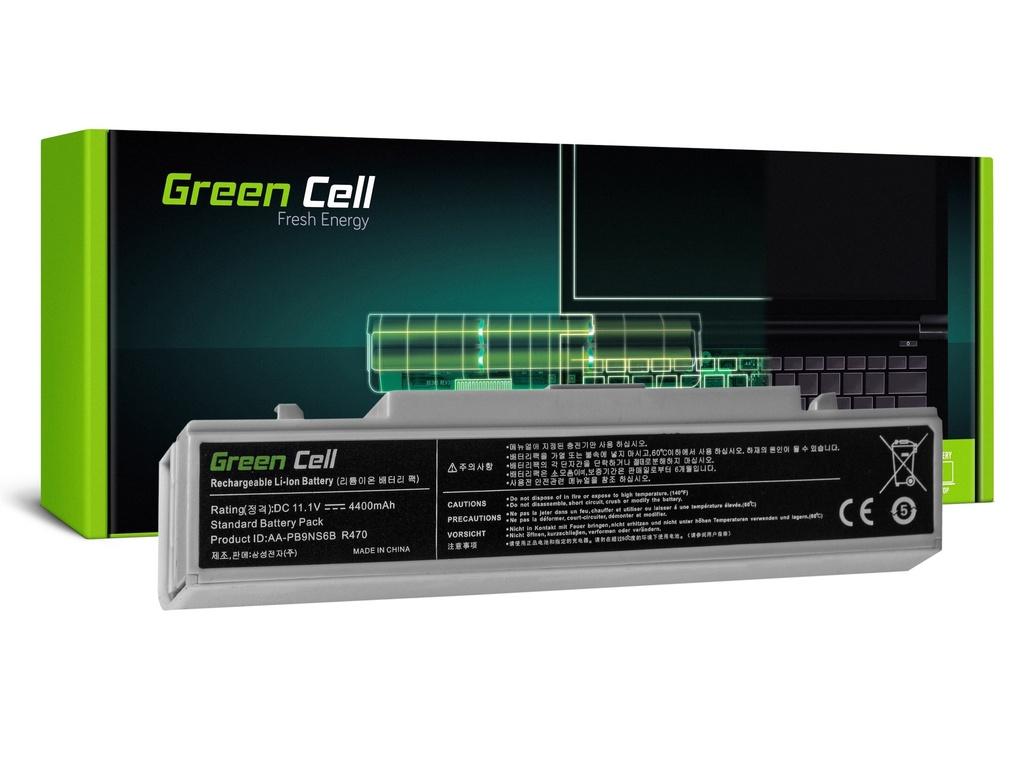 Baterija Green Cell za Samsung R519 R522 R530 R540 R580 R620 R719 R780 (bela) / 11,1V 4400mAh