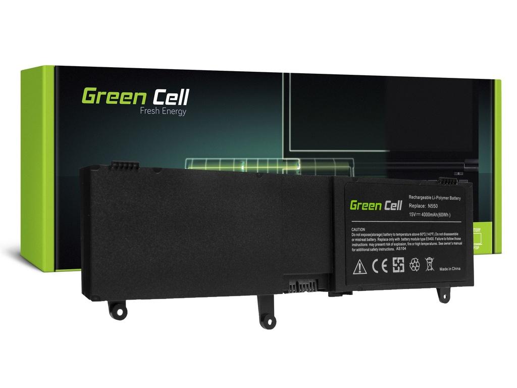 Baterija Green Cell za Asus ROG G550 G550J N550 N550J / 15V 4000mAh