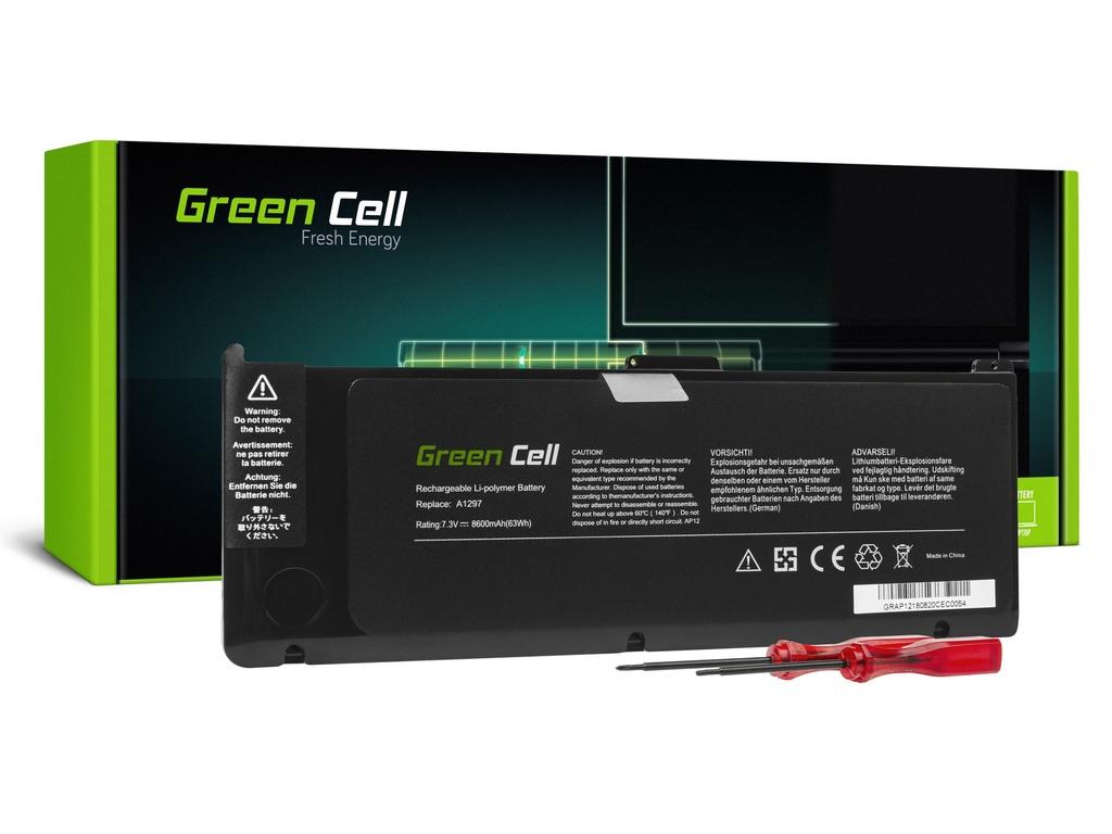 Baterija Green Cell A1309 za Apple MacBook Pro 17 A1297 (začetek 2009, sredina 2010)