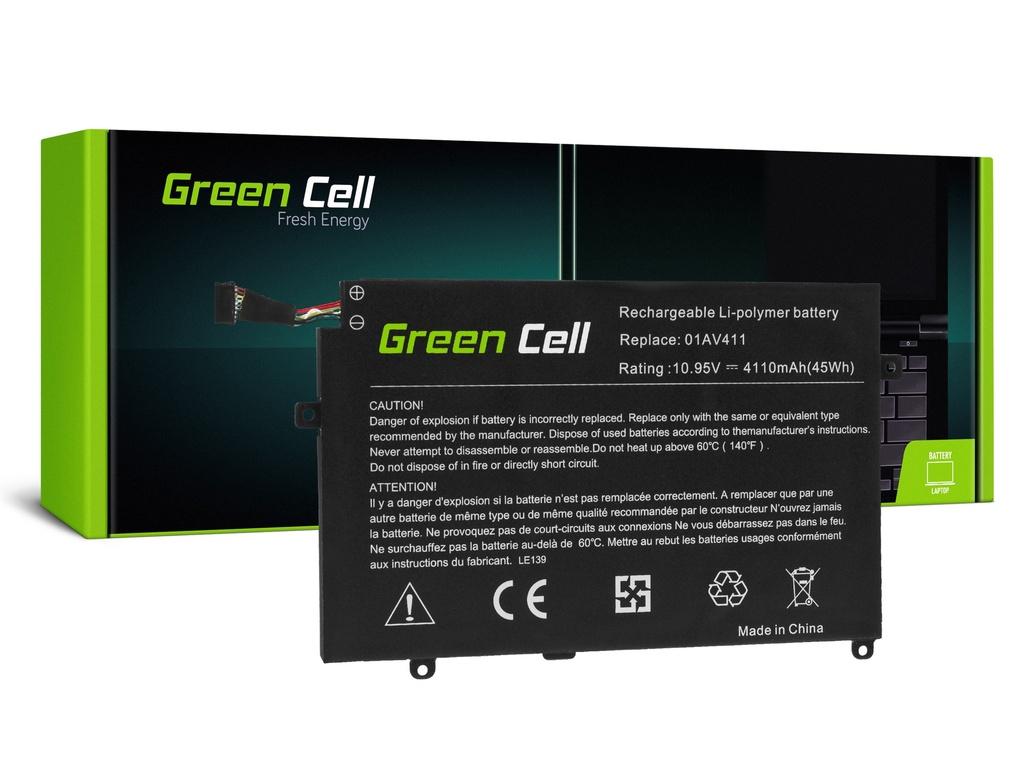 Baterija Green Cell 01AV411 01AV412 01AV413 za Lenovo ThinkPad E470 E475