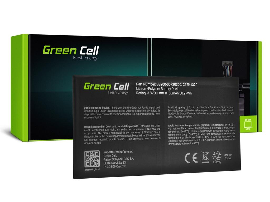 Baterija Green Cell C12N1320 za Asus Transformer Book T100T T100TA T100TAF T100TAM