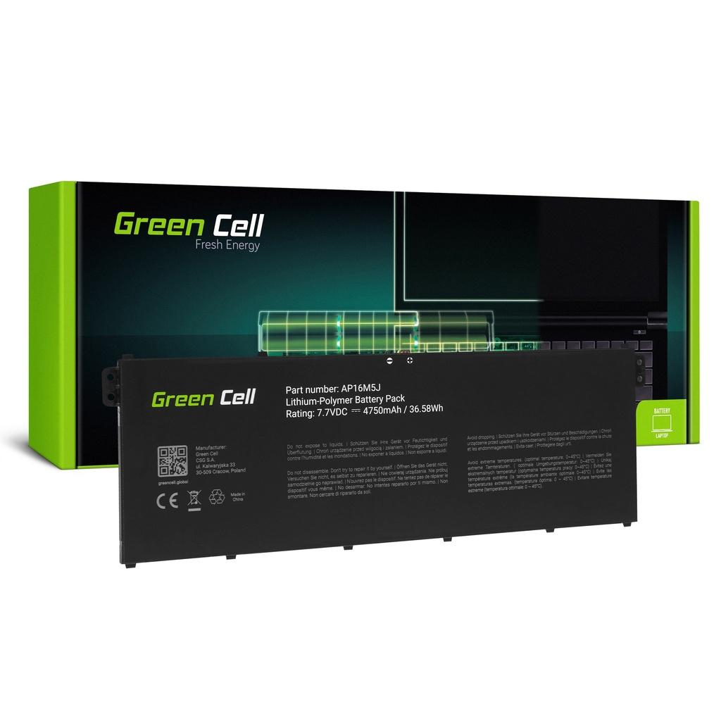 Baterija Green Cell AP16M5J za Acer Aspire 3 A315 A315-31 A315-42 A315-51 A317-51 Aspire 1 A114-31