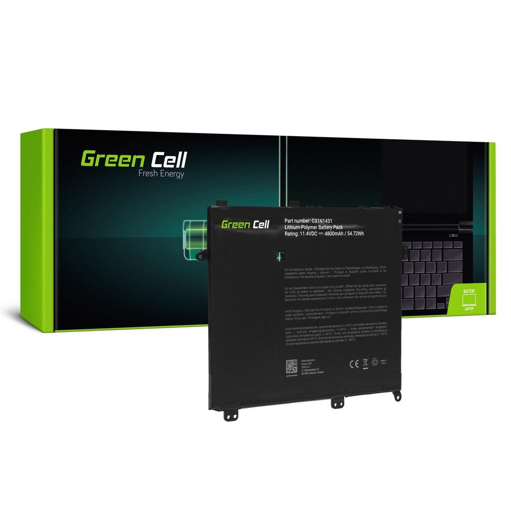 Baterija Green Cell C31N1431 za Asus E403 E403N E403NA E403S E403SA
