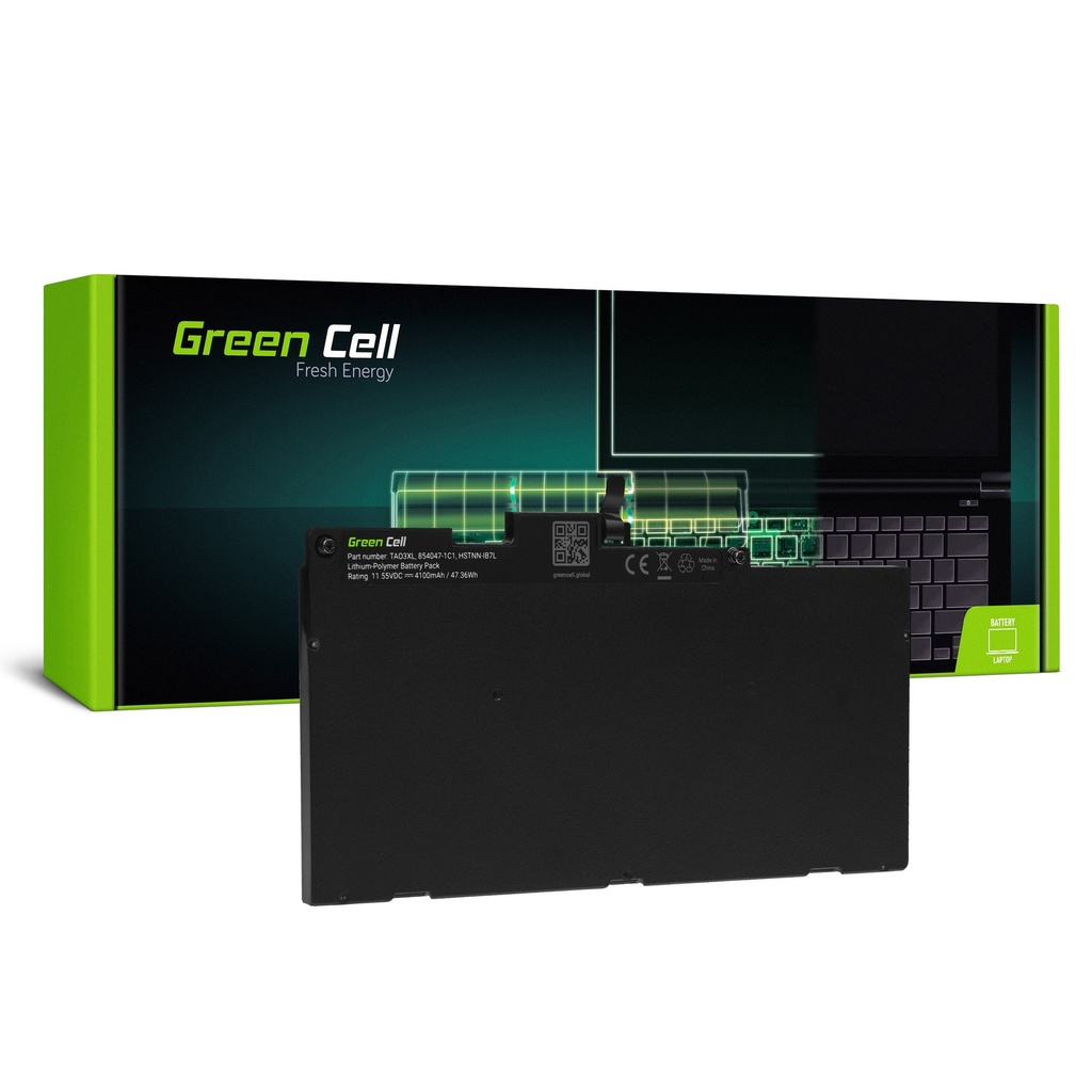 Baterija Green TA03XL za HP EliteBook 745 G4 755 G4 840 G4 850 G4, HP ZBook 14u G4 15u G4, HP mt43