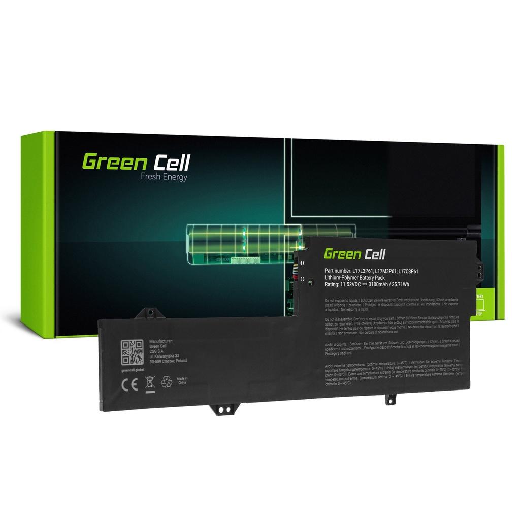 Baterija Green Cell L17C3P61 L17L3P61 L17M3P61 za Lenovo Flex 6 11 6-11IGM, IdeaPad 320s-13IKB, Yoga 330-11IGM 720-12IKB
