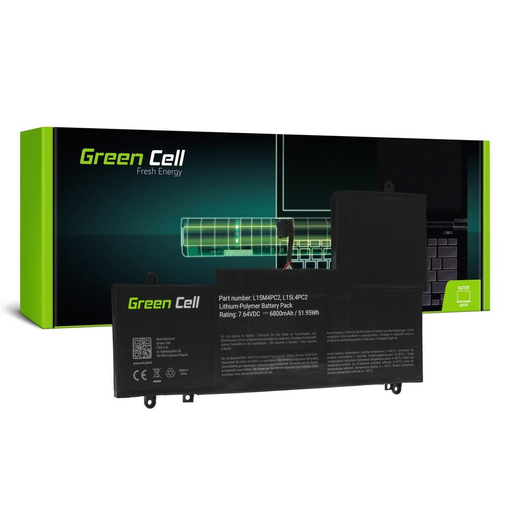 Baterija Green Cell L15L4PC2 L15M4PC2 za Lenovo Yoga 710-14 710-14IKB 710-14ISK 710-15 710-15IKB 710-15ISK