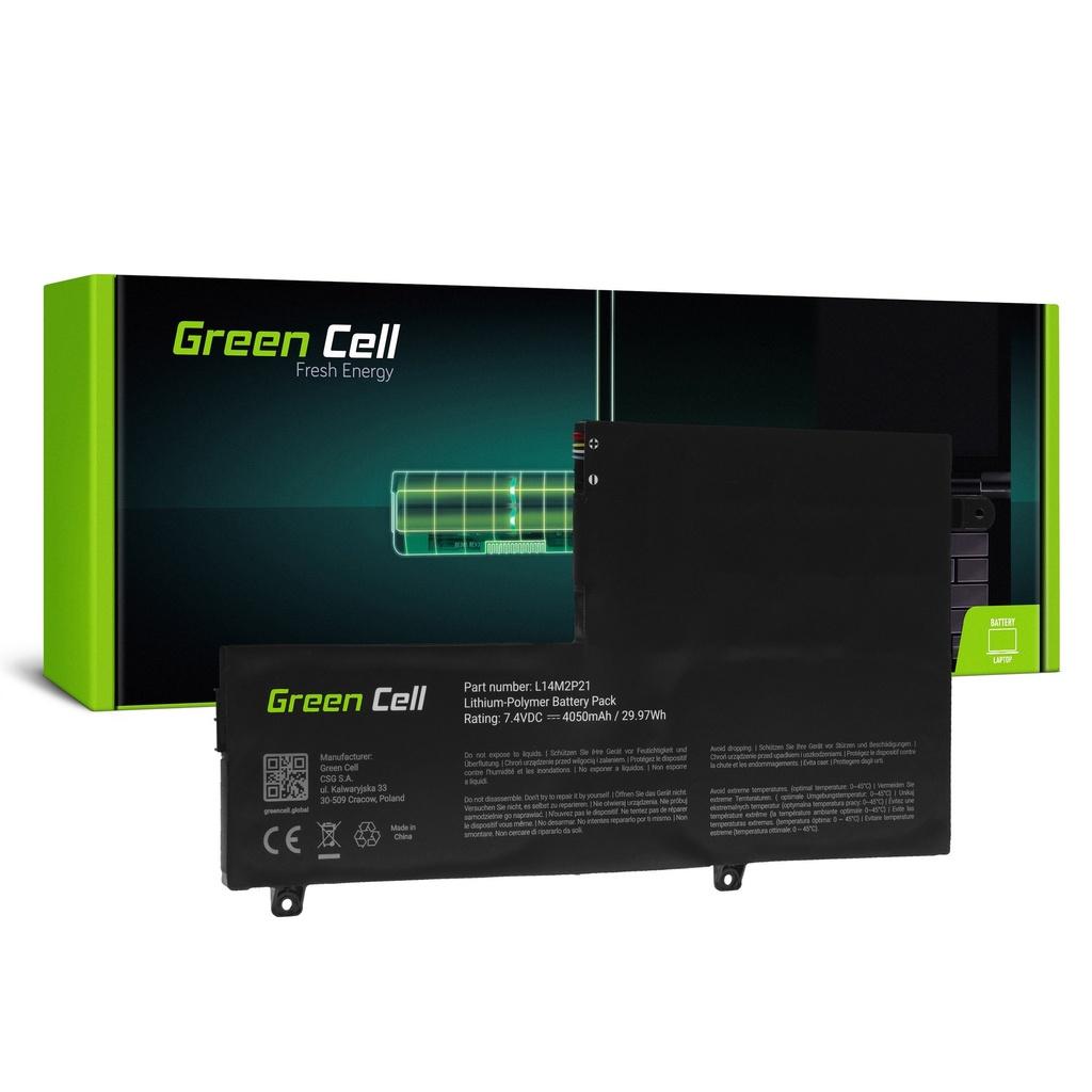 Baterija Green Cell L14L2P21 L14M2P21 za Lenovo Yoga 500-14 500-14IBD 500-14ISK 500-15 500-15IBD 500-15ISK