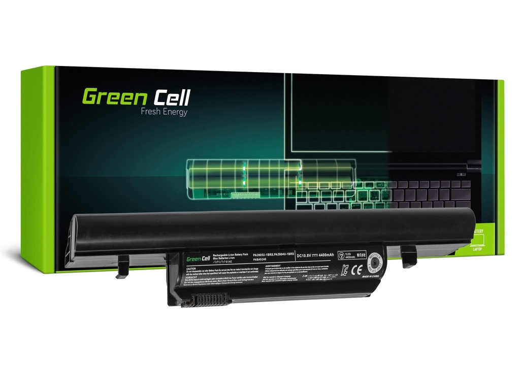 Green Cell PRO baterija za Toshiba Satellite Pro R850, Tecra R850 R950 PA3905U-1BRS / 11,1V 4400mAh