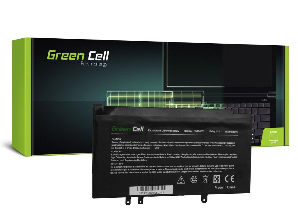 Green Cell PRO baterija za Toshiba Satellite U920t U925t PA5073U-1BRS / 11,1V 3200mAh