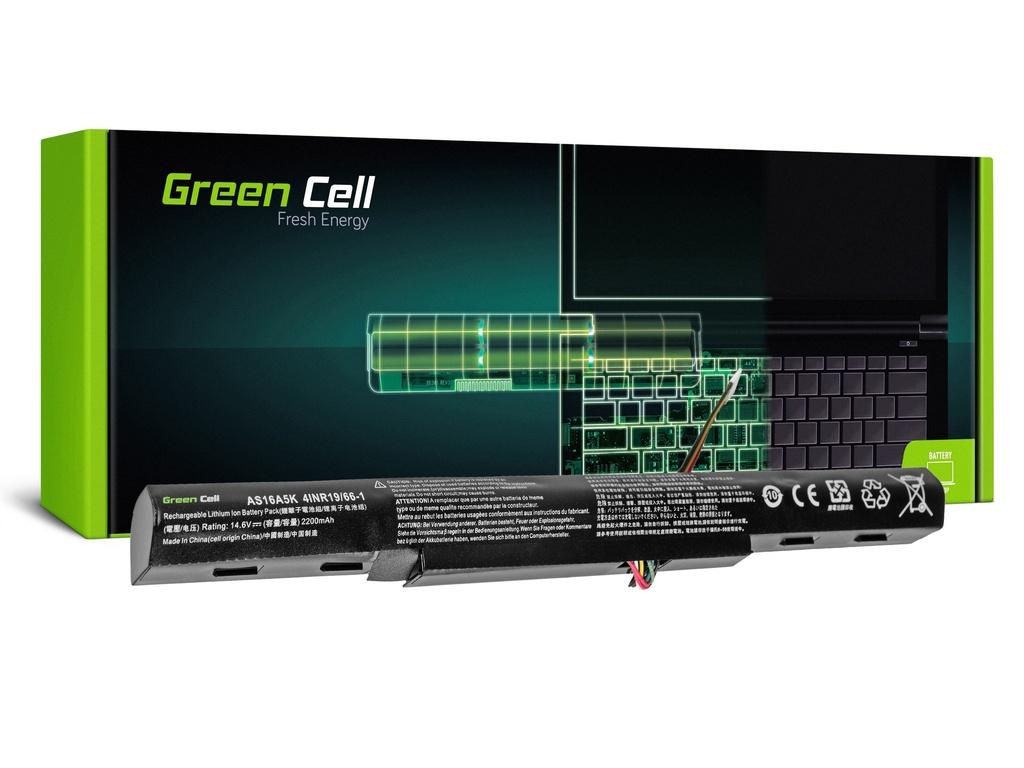 Baterija Green Cell za Acer Aspire E 15 E15 E5-575 E 17 E17 E5-774 / 14,4V 2200mAh