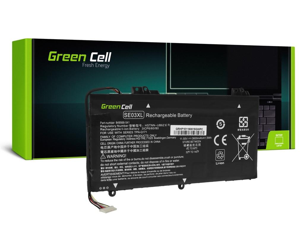 Baterija Green Cell SE03XL HSTNN-LB7G HSTNN-UB6Z za HP Pavilion 14-AL 14-AV