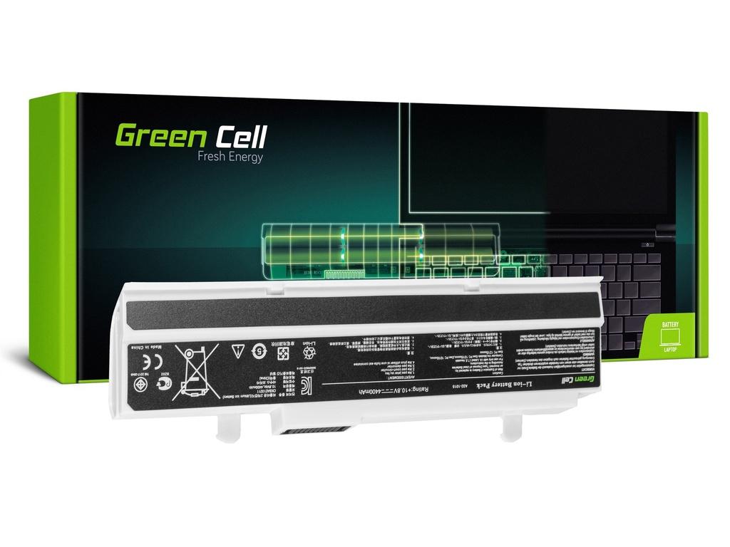 Baterija Green Cell za Asus Eee-PC 1015 1215 1215N 1215B (white) / 11,1V 4400mAh