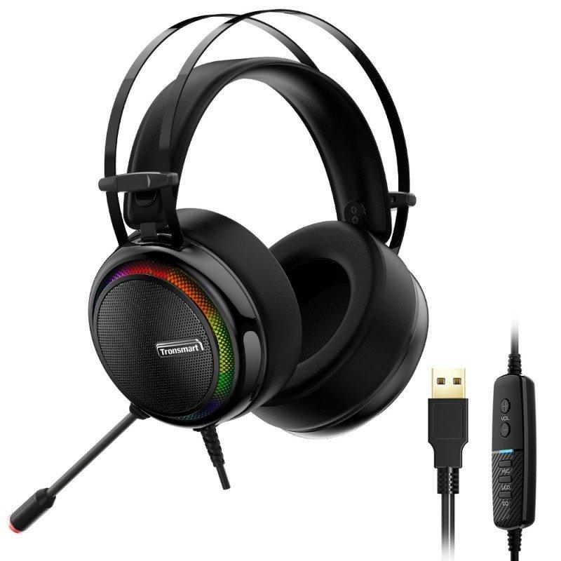 Tronsmart Glary Gaming RGB slušalke z mikrofonom in linijskim nadzorom