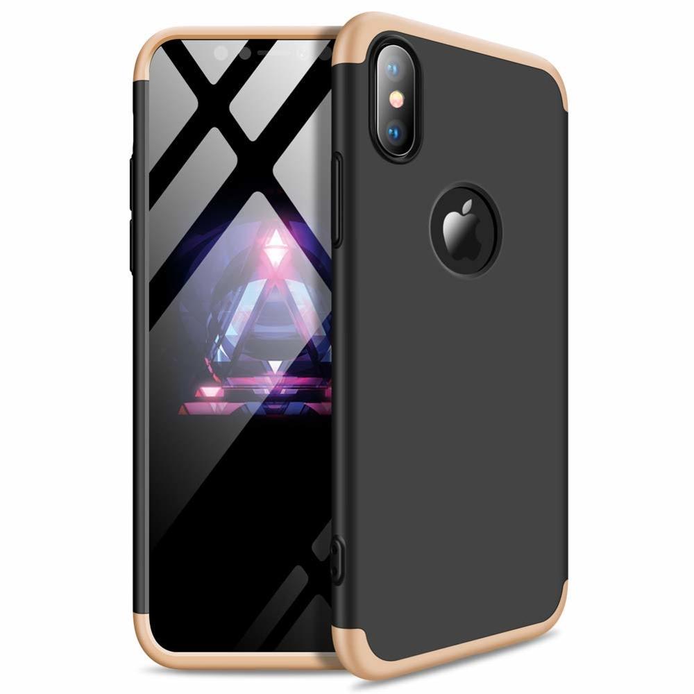 GKK 360 Protection ovitek za iPhone XS Max (luknja za logotip)