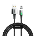 Baseus Zink lightning podatkovni kabel magnetni kabel 2.4A 1m