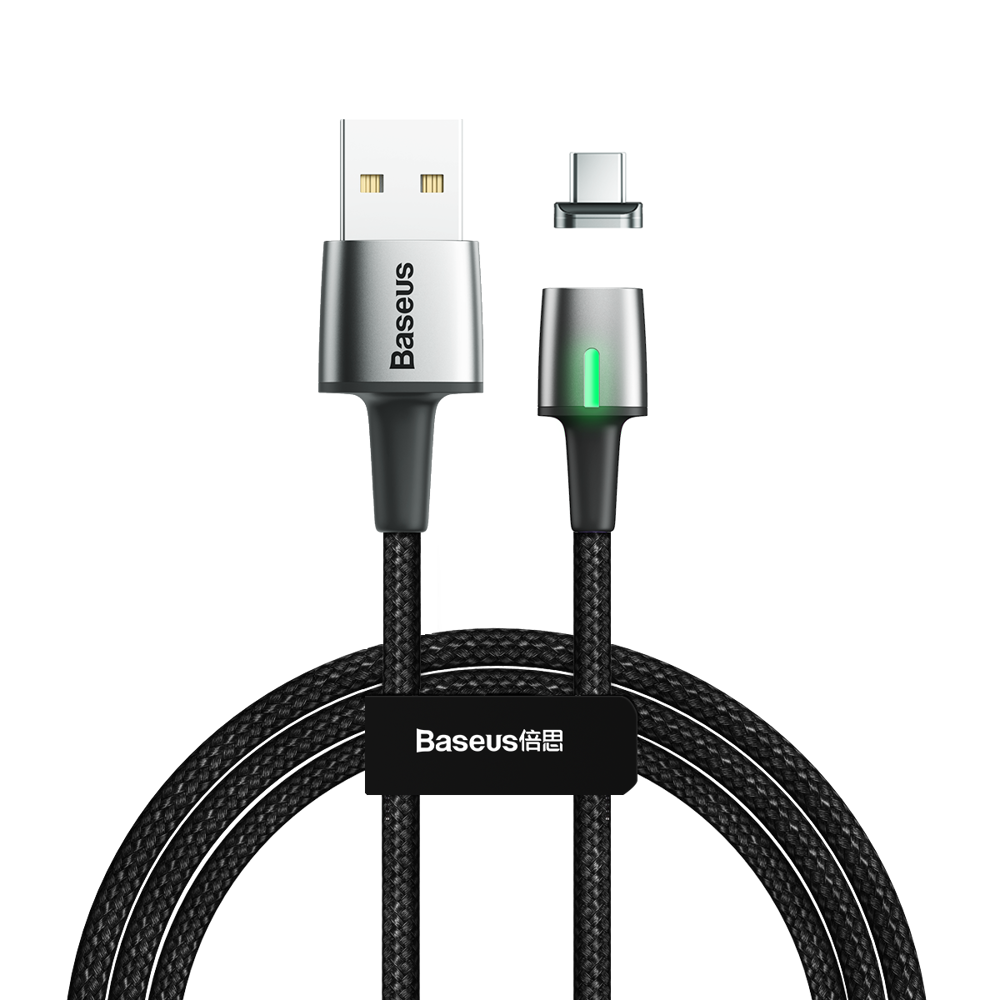 Baseus Cink USB Type C podatkovni kabel magnetni kabel 2A 2m