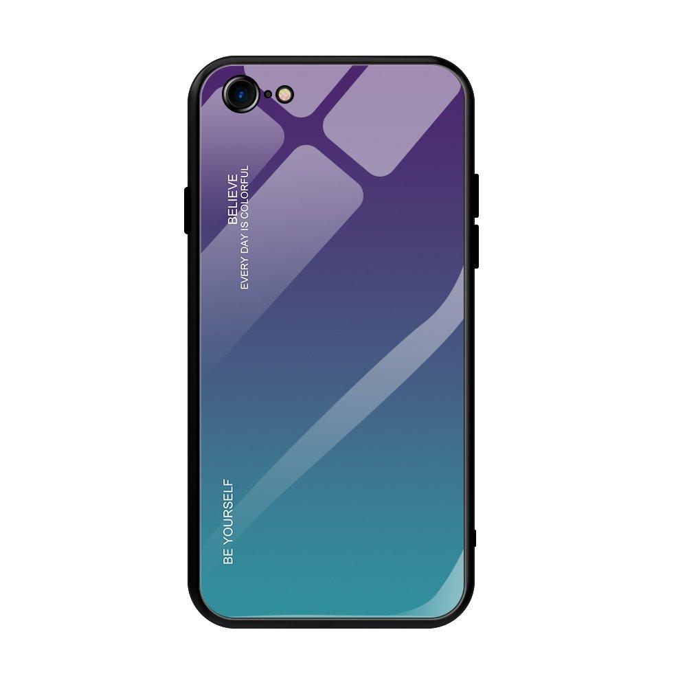Gradient Glass Durable ovitek za iPhone SE 2020 / iPhone 8 / iPhone 7