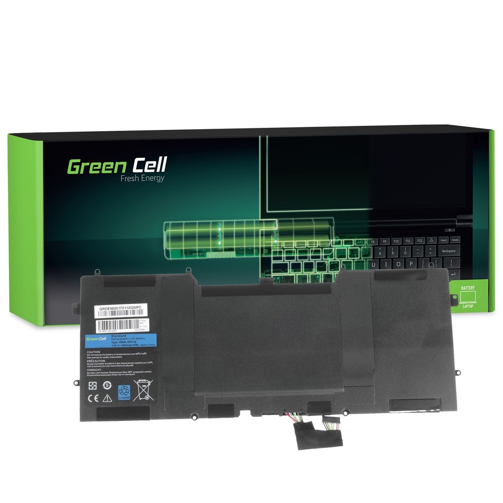 Baterija Green Cell za Dell XPS 13 9333 L321X L322X XPS 12 9Q23 9Q33 L221X / 7,4V 6300mAh
