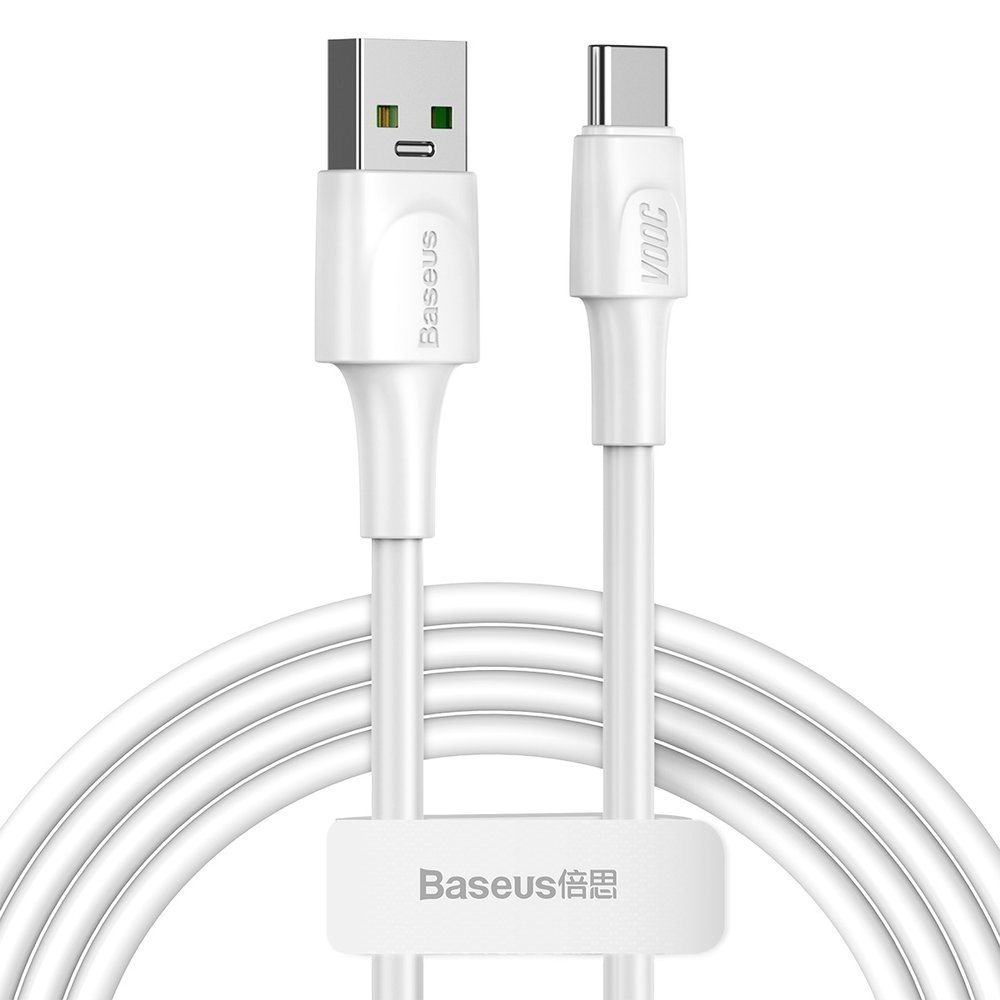 Baseus Type C podatkovni kabel VOOC Quick Charge 3.0 5 A 2 m