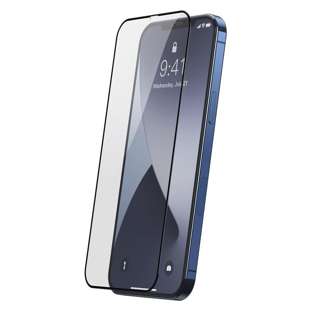 Baseus zaščitno steklo za iPhone 12 Pro Max 2x kosa 0,25 mm