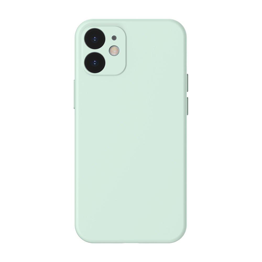 Baseus Liquid Silica Gel ovitek za iPhone 12 Pro / iPhone 12 mint