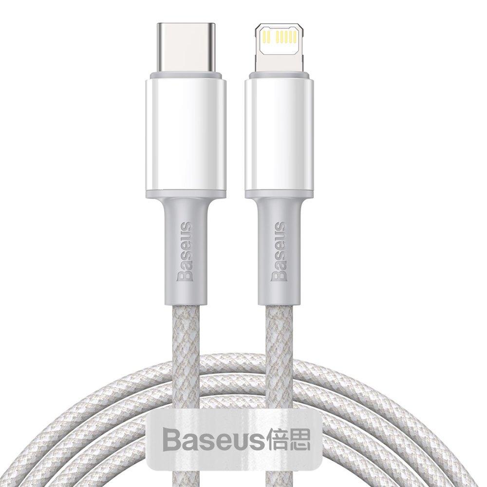 Baseus USB Type C > Lightning Podatkovni kabel PD Hitro polnjenje 20W 2m