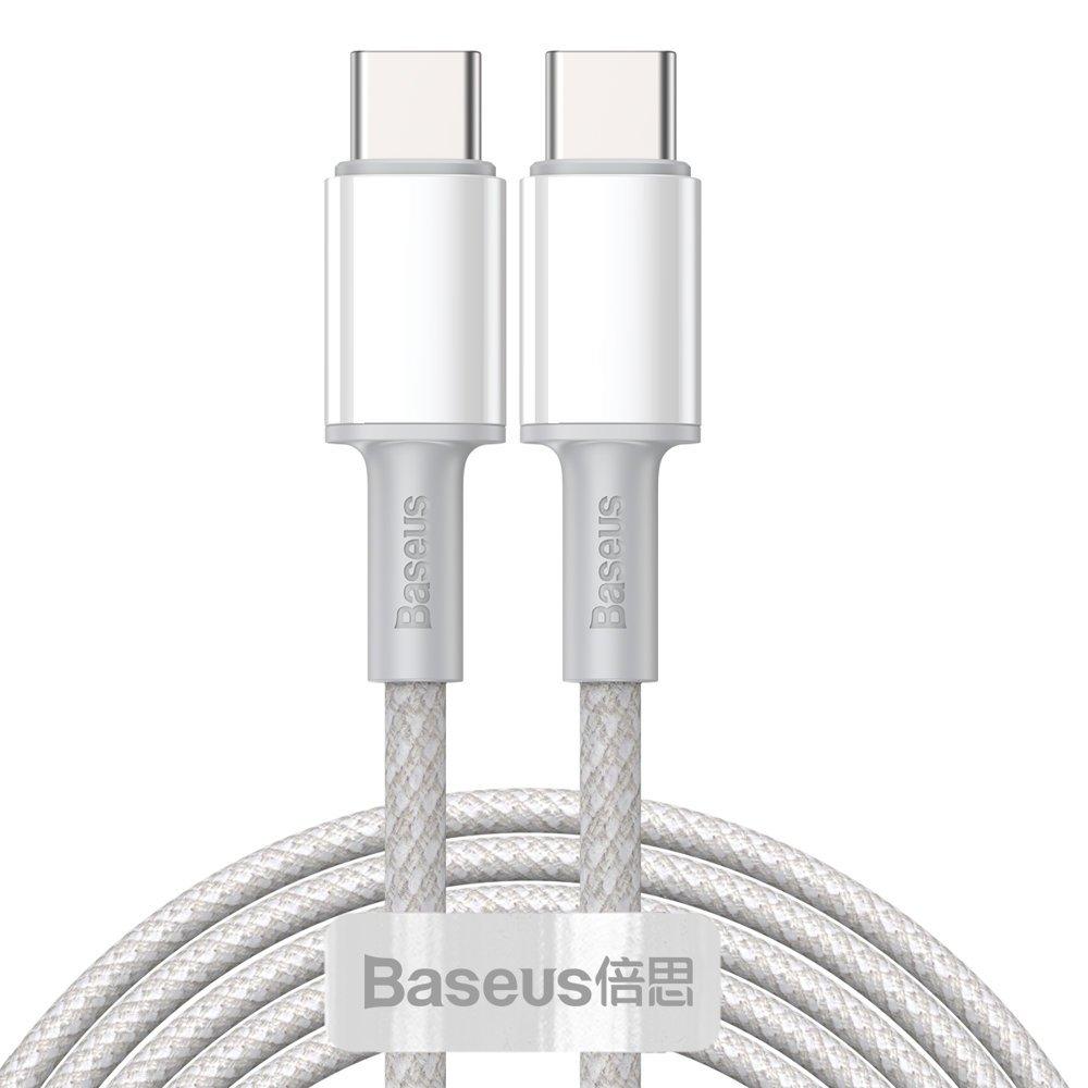 Baseus Type C > Type C podatkovni kabel PD QC 100W 5A 2m