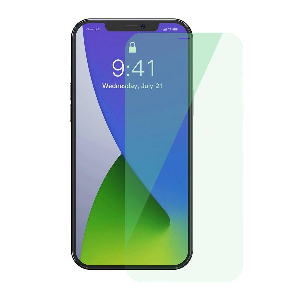 Baseus zaščitno steklo za iPhone 12 Pro / iPhone 12 2x kosa 0,15 mm