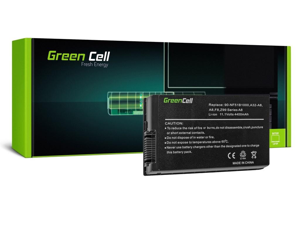 Green Cell baterija za Asus A8 A8E A8H A8J F8 N81 X80 Z99 / 11,1V 4400mAh