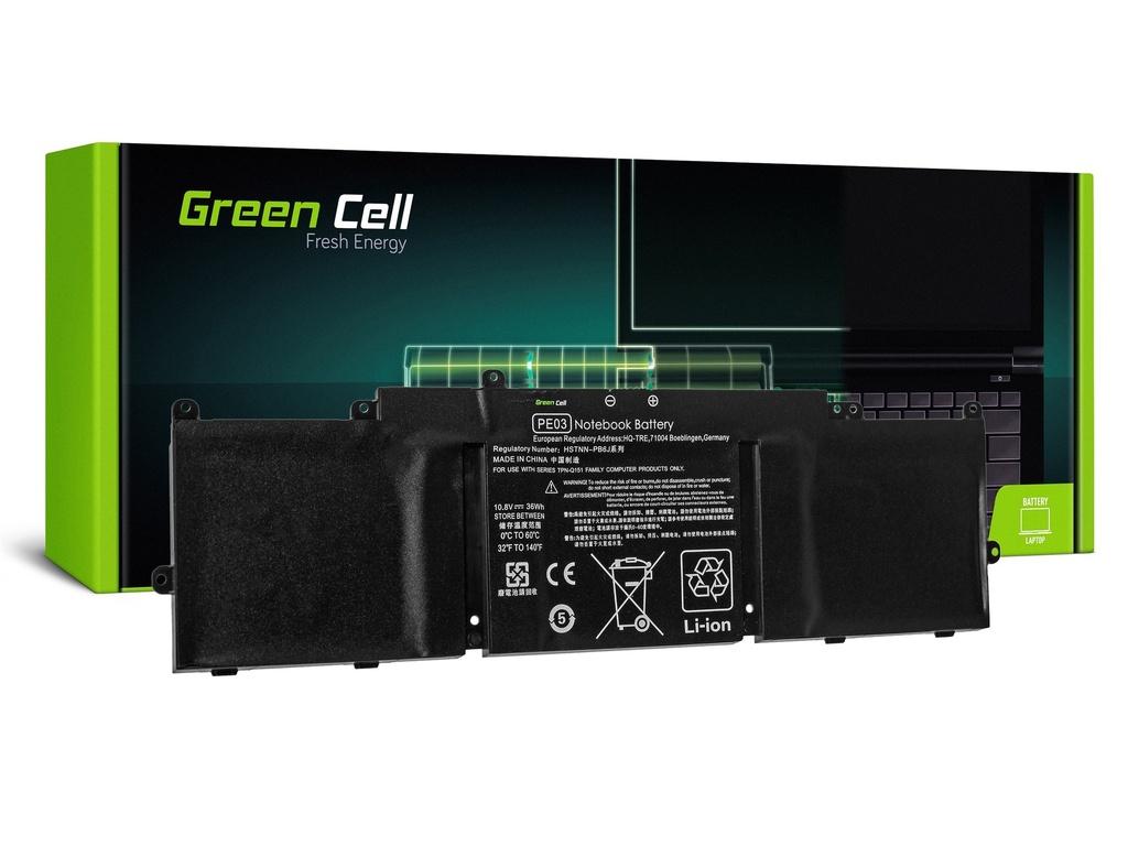 Green Cell baterija za HP Chromebook 11 G3 G4 11-2100 11-2200 / 11,1V 3300mAh