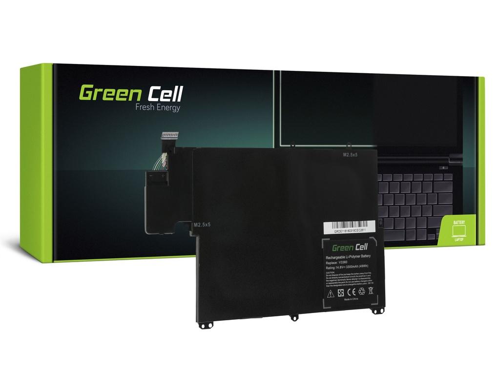 Green Cell baterija za Dell Vostro 3360 Inspiron 13z 5323 TKN25 / 14,4V 3300mAh