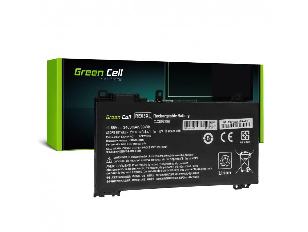 Green Cell baterija za prenosnik HP ProBook 430 G6 G7 440 G6 G7 445 G6 G7 450 G6 G7 RE03XL
