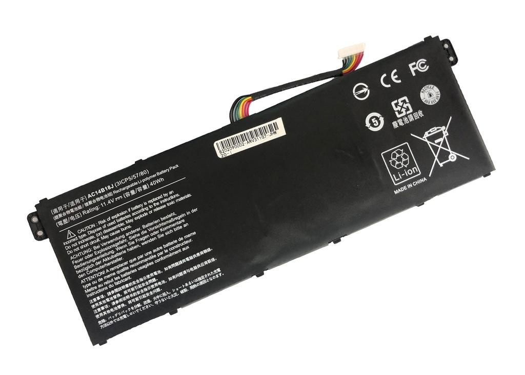 NRG+ baterija za Acer Aspire E 11 ES1-111M ES1-131 E 15 ES1-512