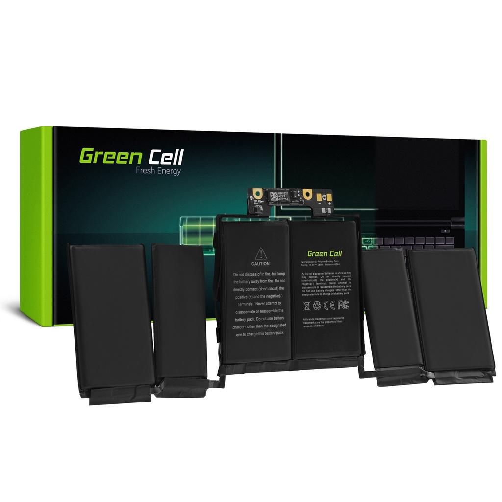 Baterija Green Cell A1964 za Apple MacBook Pro 13 A1989 (2018 i 2019, 4 vrata thunderbolt)