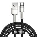 Kovinski podatkovni kabel Baseus Cafule Series USB do tipa C 40W 2m