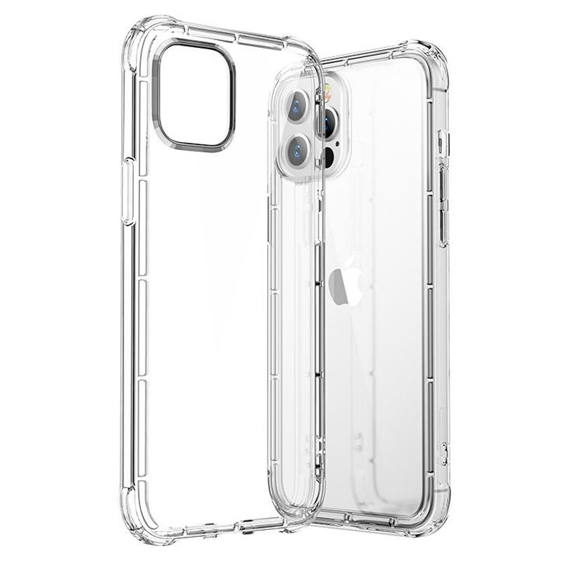 Joyroom Crystal Series trpežen trden etui za iPhone 12 mini prozoren